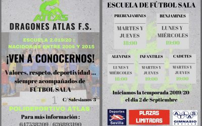 ESCUELA DRAGONES ATLAS F.S.